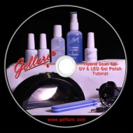 Gellure Instructional DVD with Step-by-Step Instructions Leaflet.